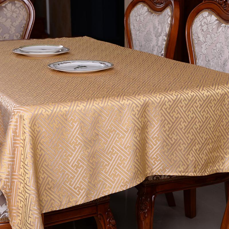 定制现代新中式桌布古典餐桌桌布台布中国风茶几电视柜布艺包邮